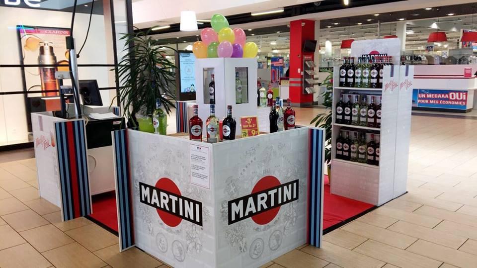 Mercialys Bacardi Martini